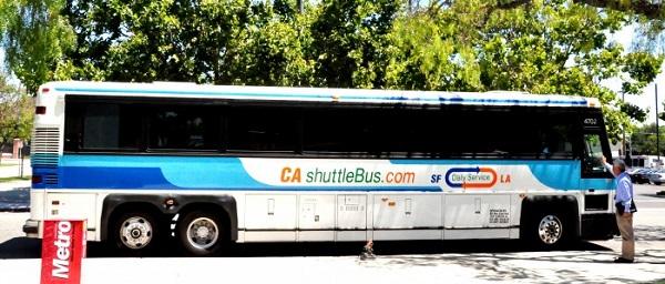 California Shuttle Bus 2