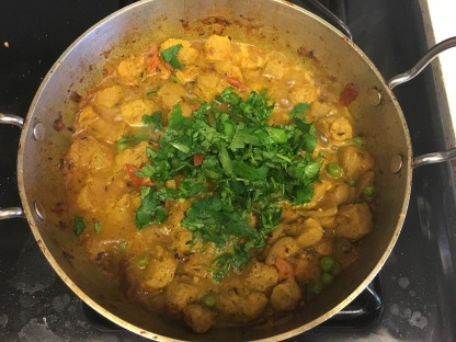 Soya chunks curry 10
