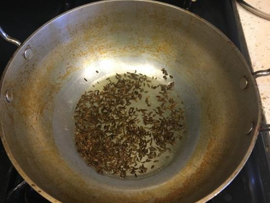Soya chunks curry 2