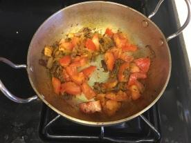 Soya chunks curry 4