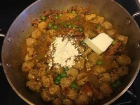 Soya chunks curry 8