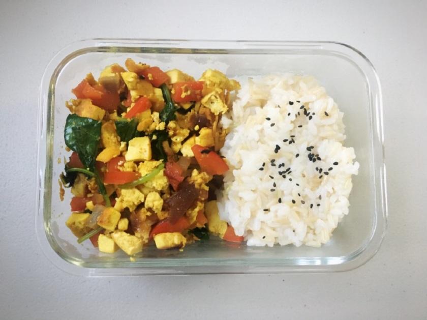 Tofu Veggies Masala 9